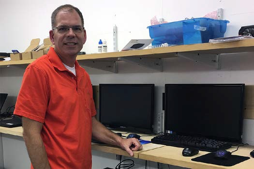 """Through the classes SBDC has provided I have the necessary skills required to run a business. I thank SBDC for their support."" — Dale Bogardus, Owner, Outstanding Computer Repair"
