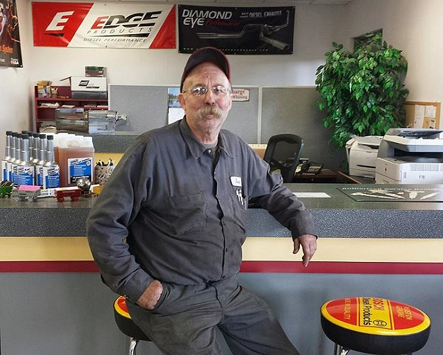 """My lifelong dream came true because of the SBDC's help and support."" — Dave Carter, Owner, Dave's Diesel Technology"