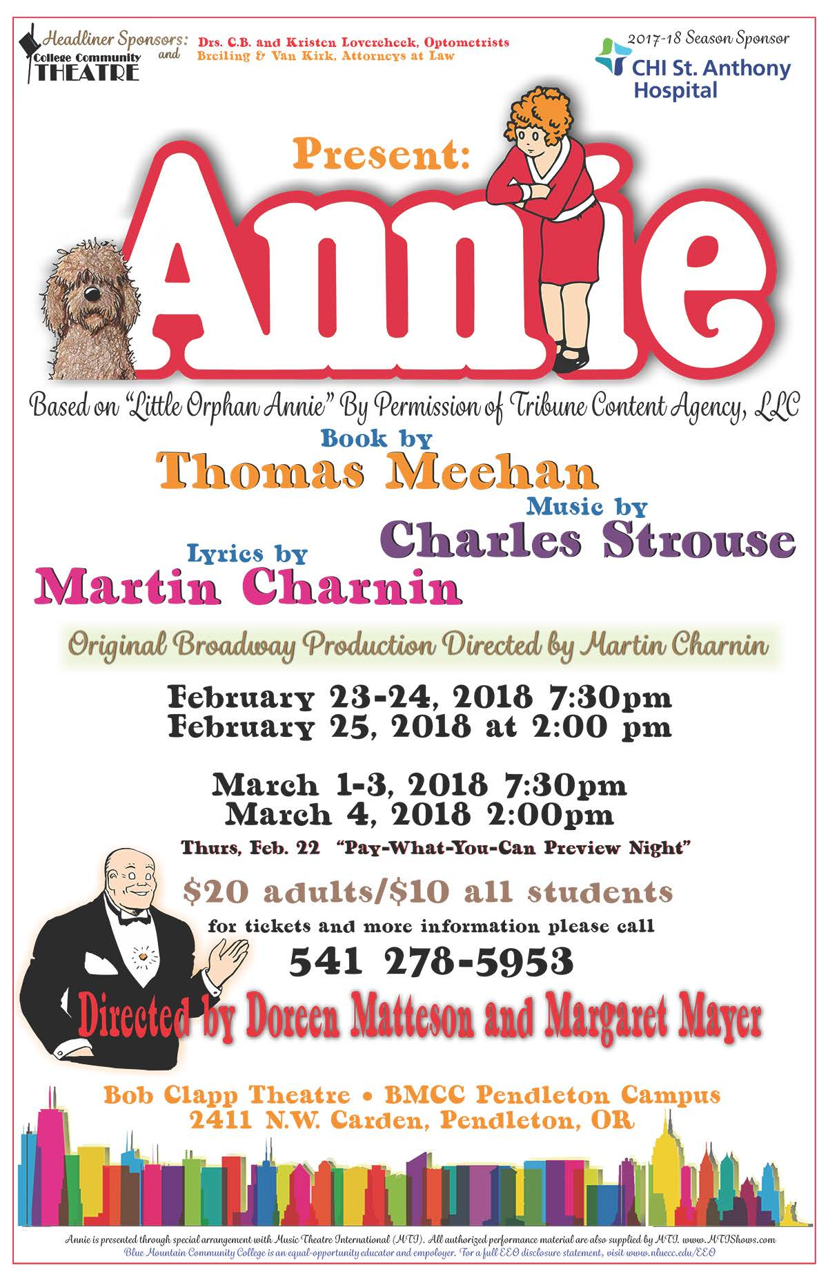 Annie Theatre theater play