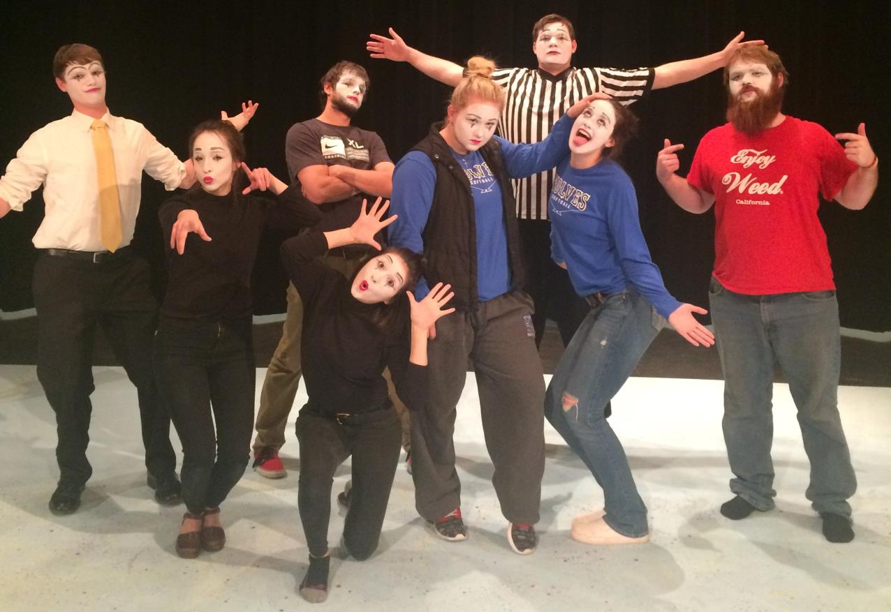 Acting Class Mime fun
