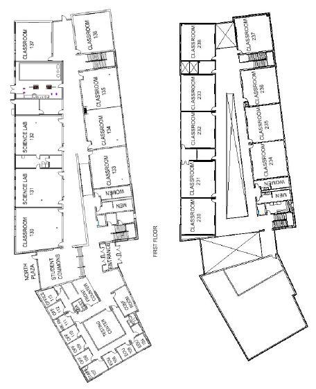 Hermiston Building Map Blue Mountain Community College